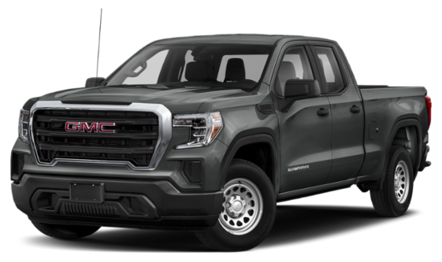 Gray 2020 GMC Sierra