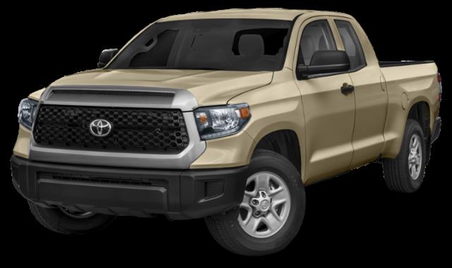 Tan 2020 Toyota Tundra