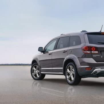 2017 Dodge Journey Rear View