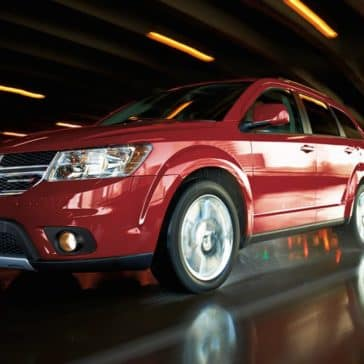 2017 Dodge Journey Red Exterior