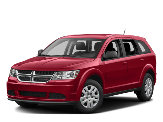 2017 Dodge Journey white background