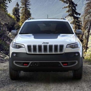 2019 Jeep Cherokee Traihawk forest drive