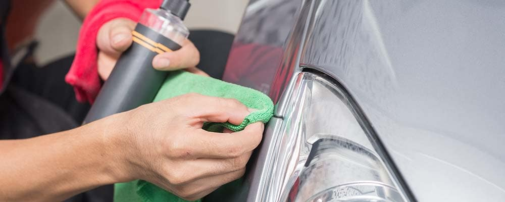 Car Detailing with Chamois