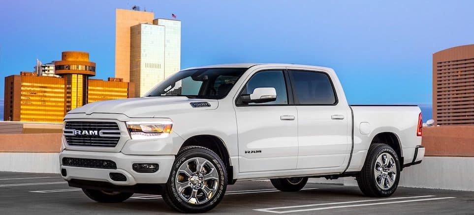 2019 RAM 1500 in Urban Parking Garage