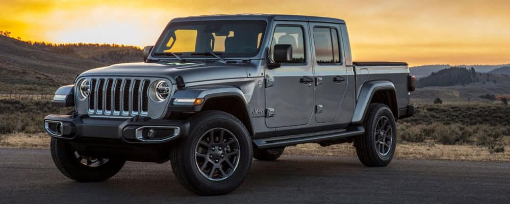 2019 Jeep Gladiator Parked in Scenic View
