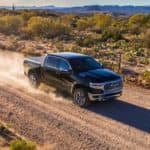 2019 RAM 1500 on Desert Road