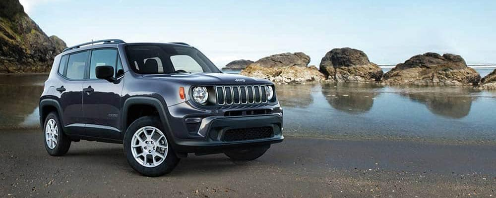 2019 Jeep Renegade near the beach header