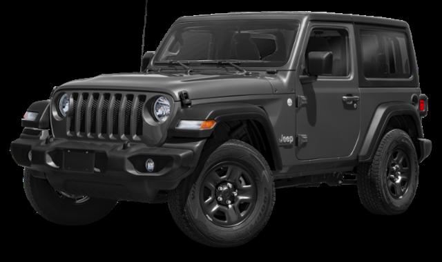 dark gray 2020 Jeep Wrangler