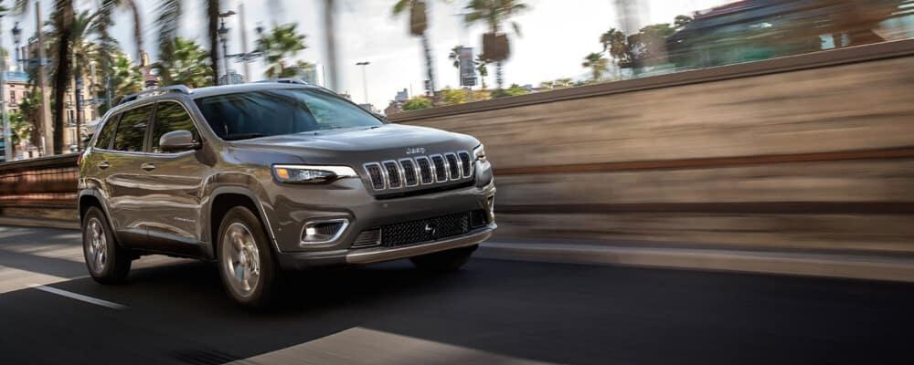 2021 Jeep Cherokee Driving