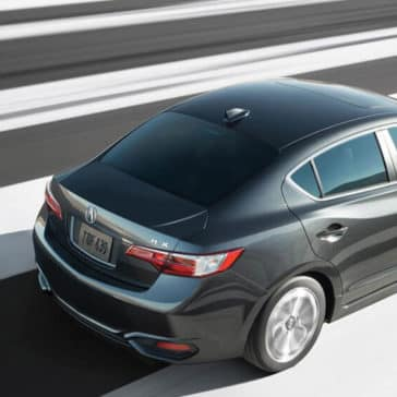 2017 Acura ILX driving on road
