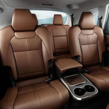 2017 Acura MDX Advance Package Espresso Interior