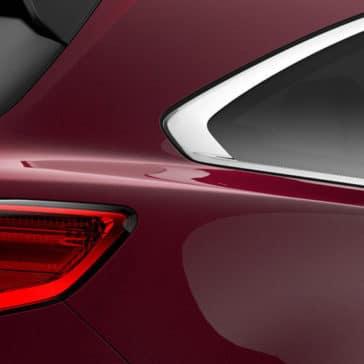 2017 Acura MDX base Dark Cherry Pearl tail light