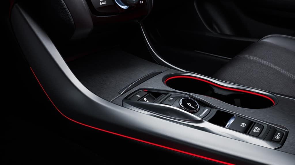 2018 Acura TLX push button gear selector