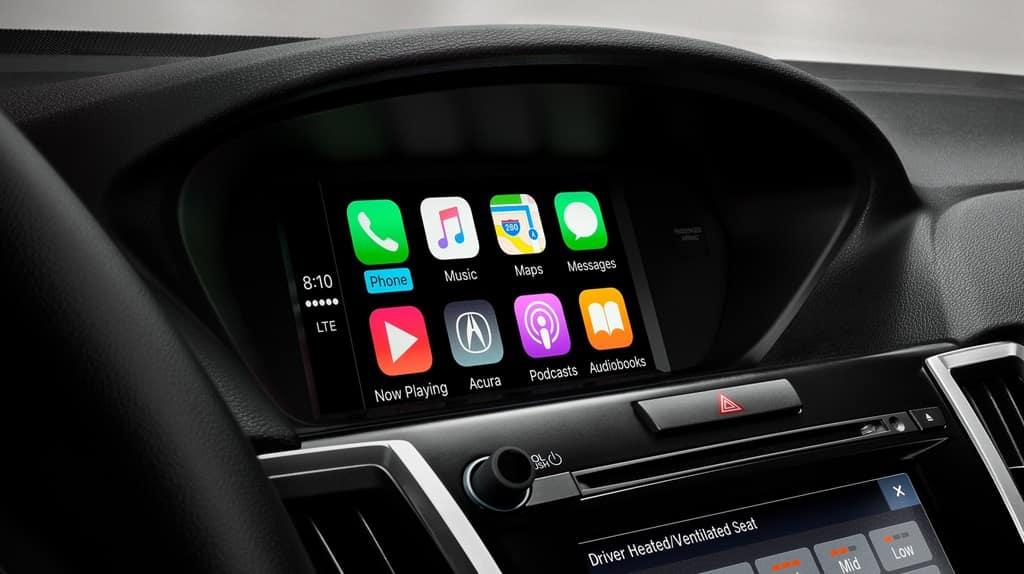 2018 Acura TLX touchscreen entertainment center