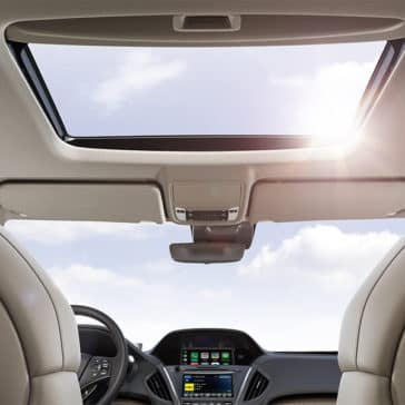 2018 Acura MDX Sunroof