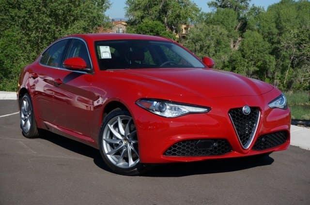 2017 Alfa Romeo Giulia Ti Sedan For Sale Near Denver Colorado