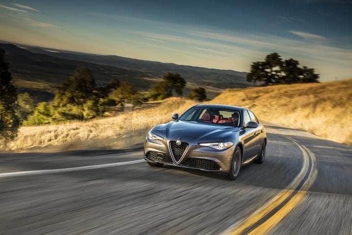 2018 Alfa Romeo Giulia Named a 10Best
