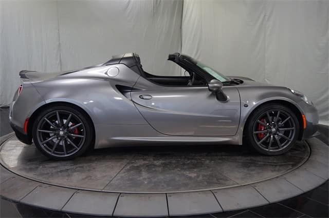 Gently Pre Owned 2015 Alfa Romeo 4c Spider Convertible For Sale