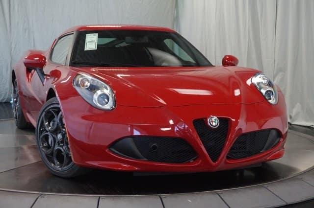 2018 Alfa Romeo 4C Coupe Convertible