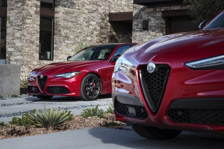 Nero Edizione Package for Alfa Romeo Stelvio and Giulia models