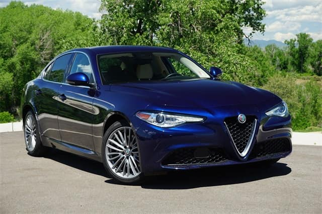 Gently preowned 2017 Alfa Romeo Giulia Ti AWD for sale