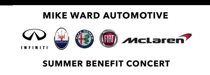 Mike Ward Summer Benefit Concert July 26