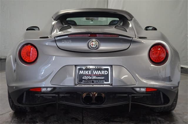 Gently used 2015 Alfa Romeo 4C Convertible For Sale
