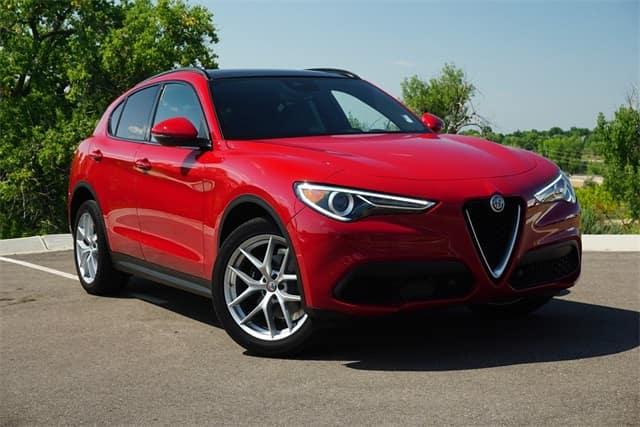 2018 Alfa Romeo Stelvio Ti luxury SUV for sale