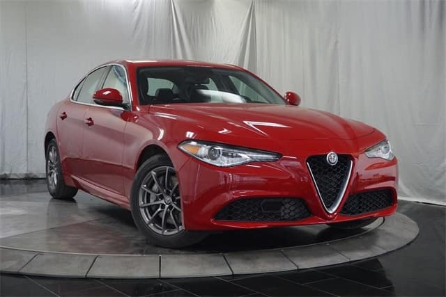 2018 Alfa Romeo Giulia AWD luxury sedan