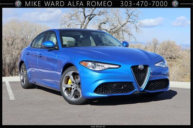 2019 Alfa Romeo Giulia Luxury Performance Sedan For Sale Near Denver