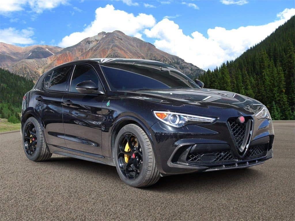 CPO 2018 Alfa Romeo Stelvio Quadrifoglio