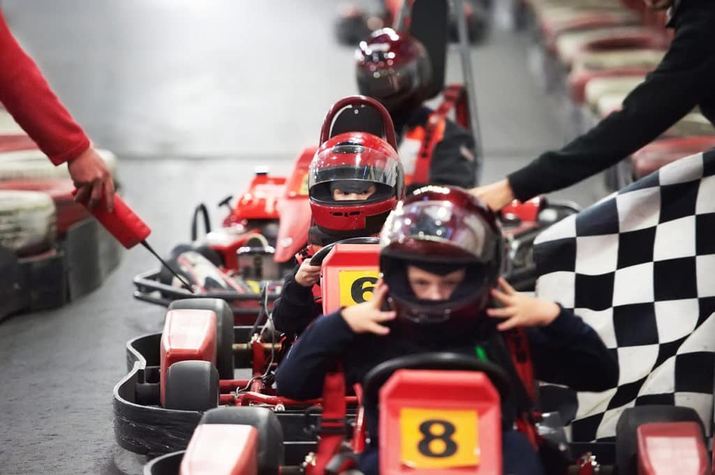 Challenge Your Family And Friends To A Race At Autobahn Indoor Speedway