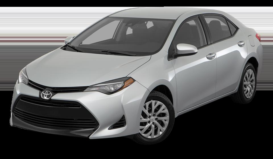 A silver 2017 Toyota Corolla