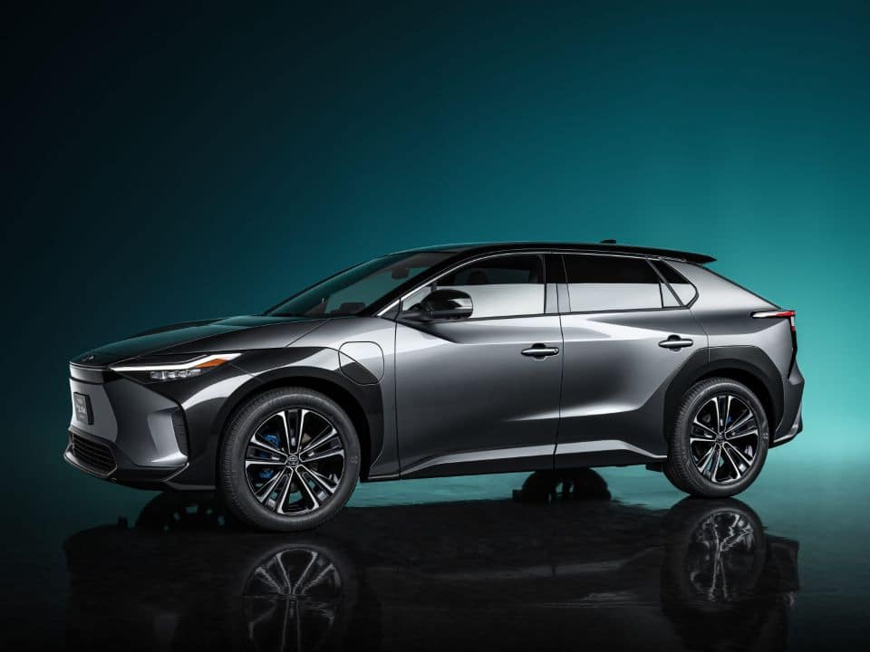 Photo of concept EV, Toyota bZ4X BEV