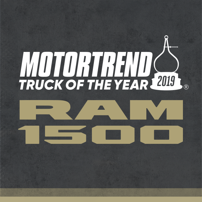 Truck Of The Year >> Ram 1500 Is The 2019 Motortrend Truck Of The Year Newberg