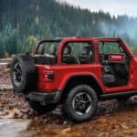 Jeep Rubicon Side Exterior without doors