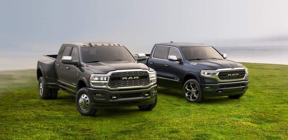 Ram Heavy Duty and Light Duty Trucks