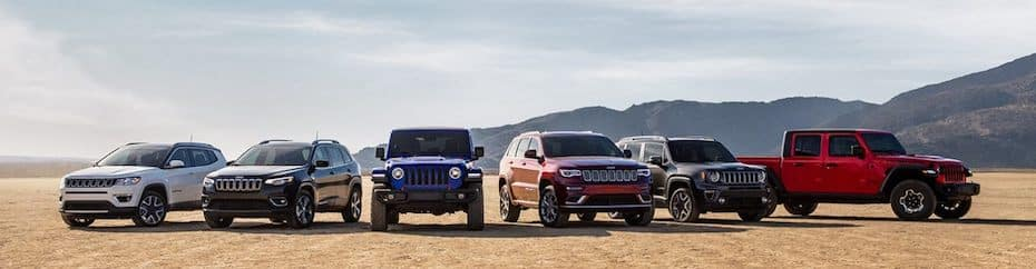 2020 Jeep Lineup