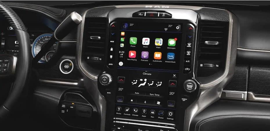 2020 Ram 2500 With Apple CarPlay