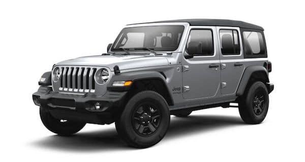 2021 Jeep Wrangler in Billet Silver