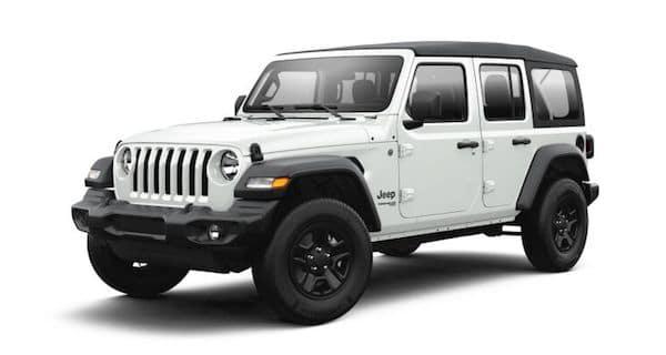 2021 Jeep Wrangler in Bright White