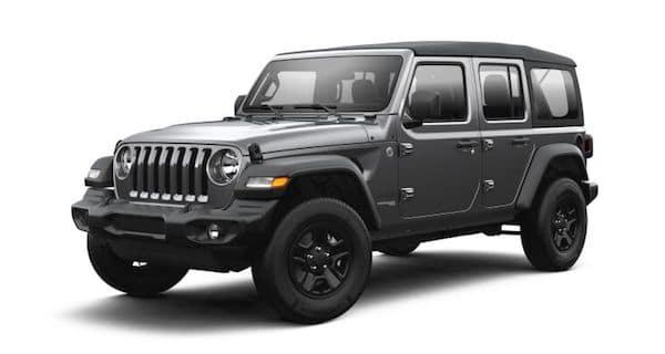 2021 Jeep Wrangler in Granite Crystal
