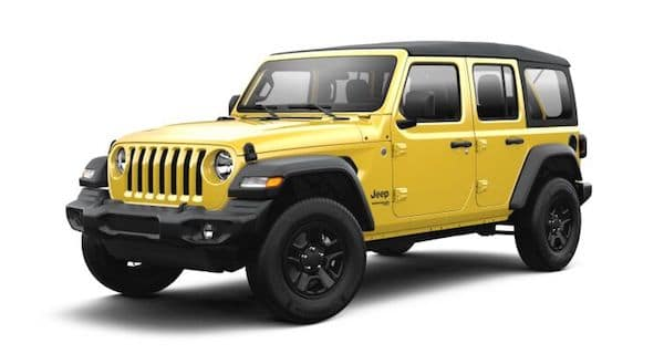 2021 Jeep Wrangler in Hellayella
