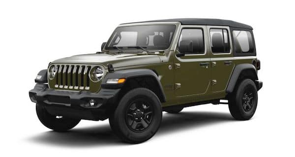 2021 Jeep Wrangler in Sarge Green