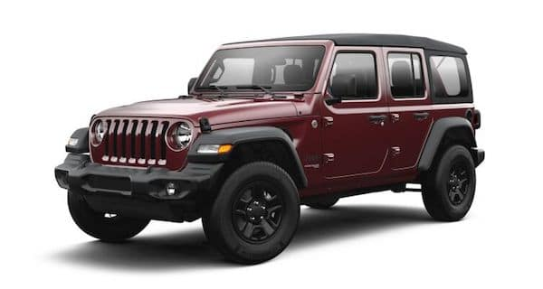 2021 Jeep Wrangler in Snazzberry