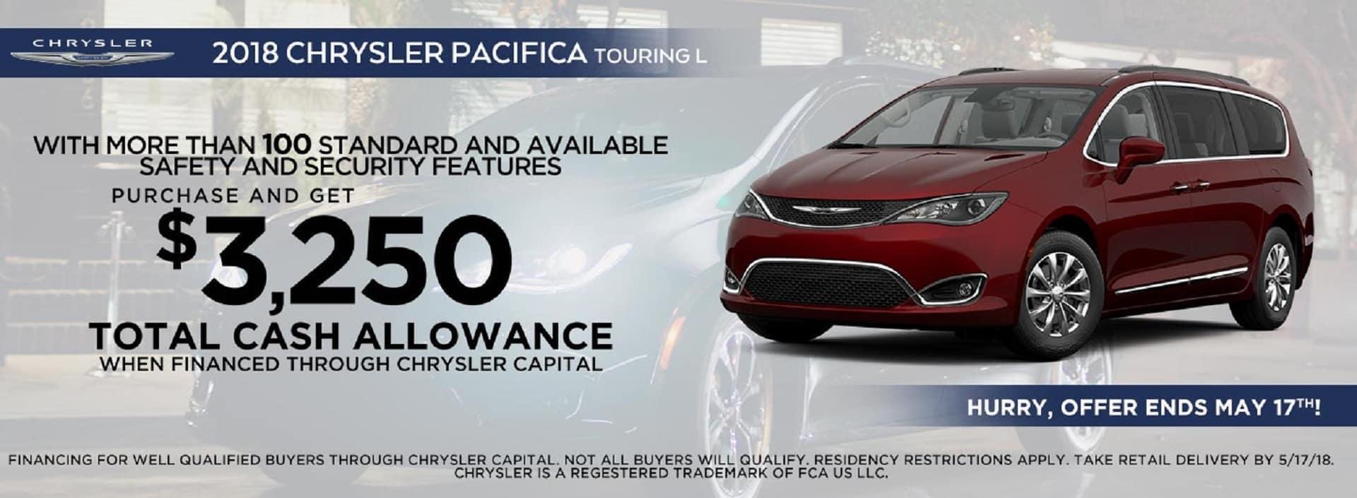 2018 Chrysler Pacifica Banner