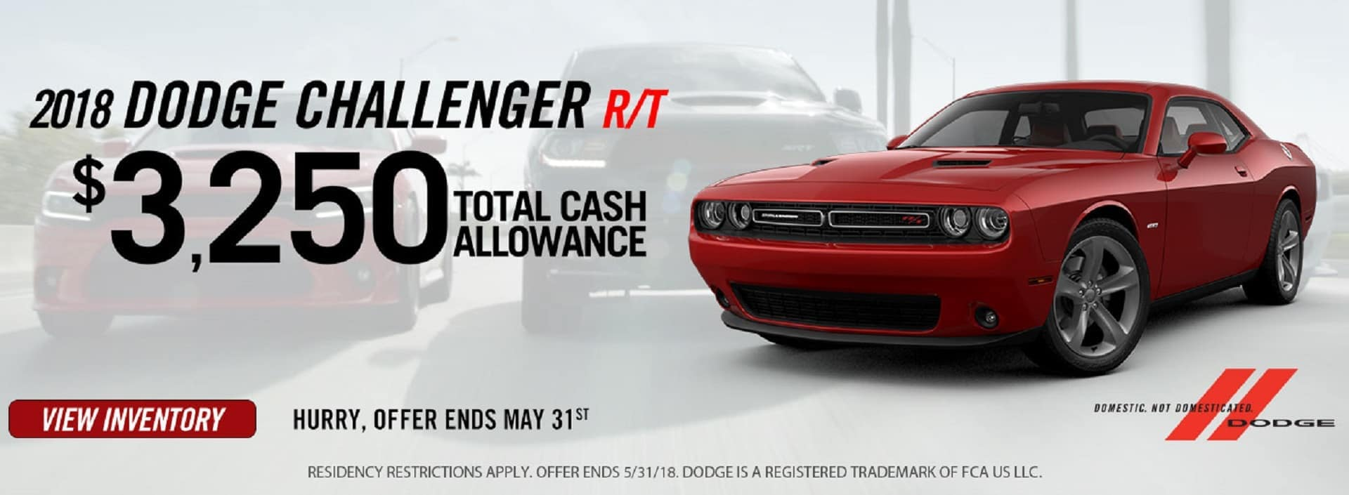 2018 Dodge Challenger Banner