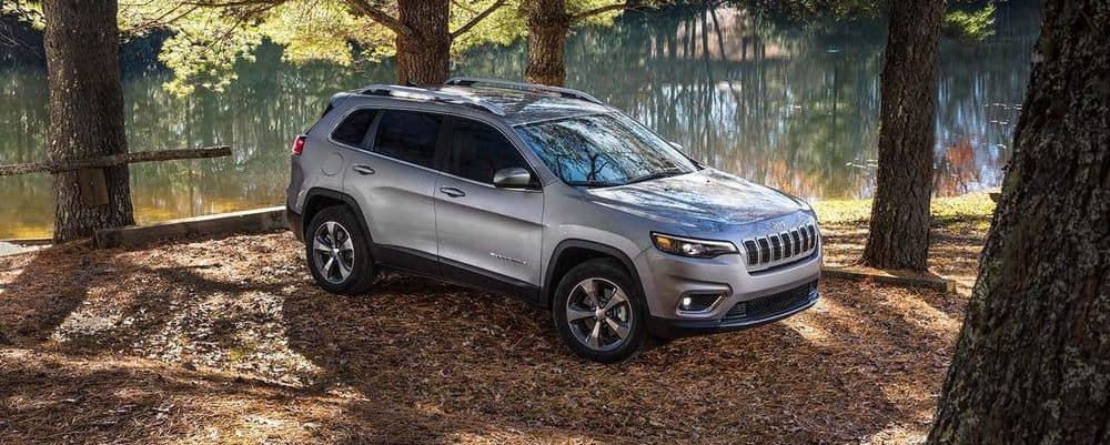 2019 Jeep Cherokee By Pond