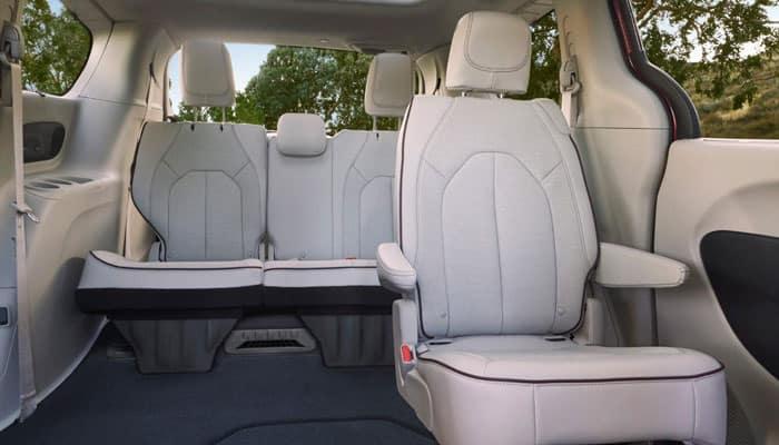 2019 Chrysler Pacifica Interior Cargo Space