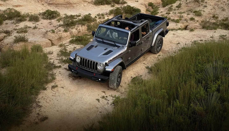 2020 All-New Jeep Gladiator in desert